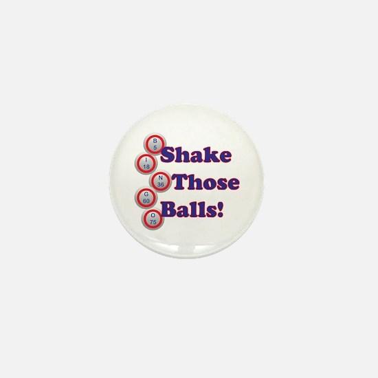 Bingo Shake Mini Button