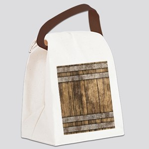 The Backyard Fence Canvas Lunch Bag
