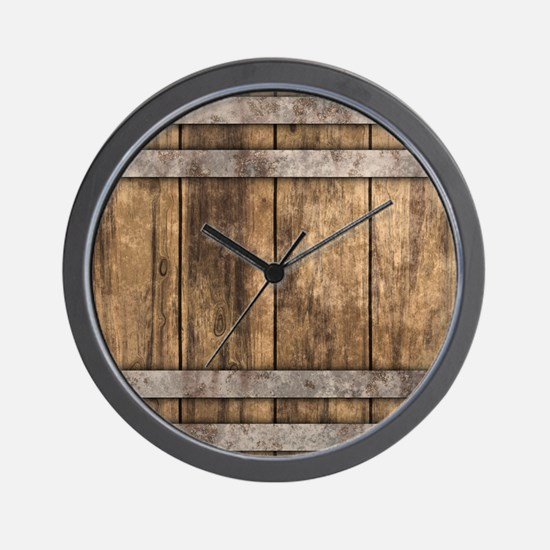 The Backyard Fence Wall Clock