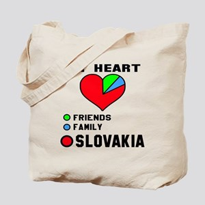 My Heart Friends, Family and Slovakia Tote Bag