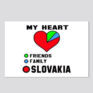 My Heart Friends, Family Postcards (Package of 8)