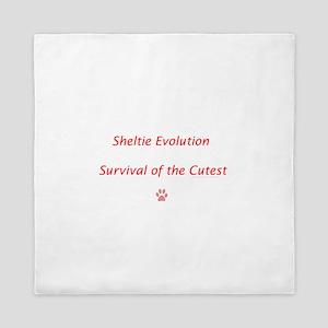 Sheltie Evolution Survival of the Cutest Queen Duv