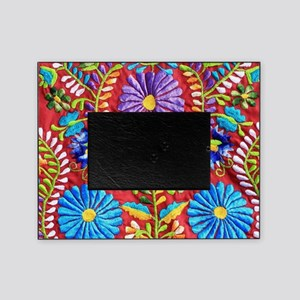 Mexican Embroidery  Picture Frame