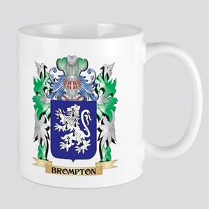 Brompton Coat of Arms - Family Crest Mugs