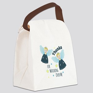 Watching Over Me Canvas Lunch Bag