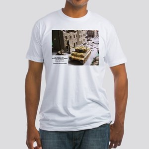 The Games of War 26 Fitted T-Shirt