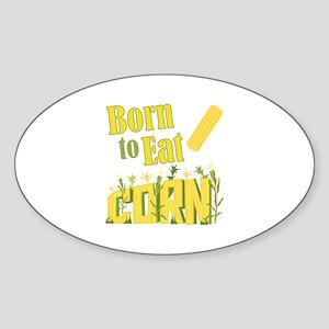 Eat Corn Sticker