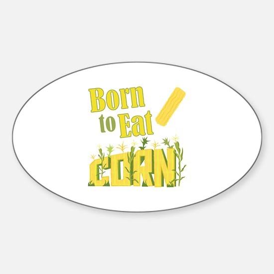 Eat Corn Decal