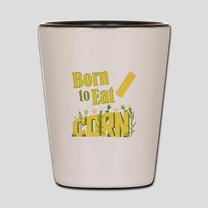 Eat Corn Shot Glass