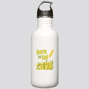 Eat Corn Water Bottle