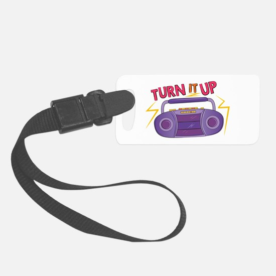 Turn It Up Luggage Tag
