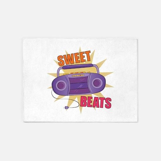 Sweet Beats 5'x7'Area Rug