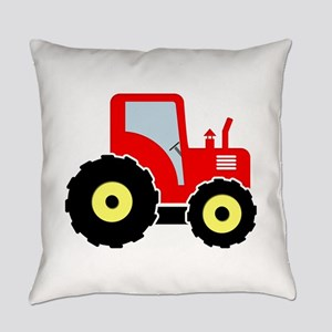 Red toy tractor Everyday Pillow