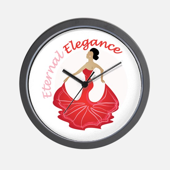 Eternal Elegance Wall Clock