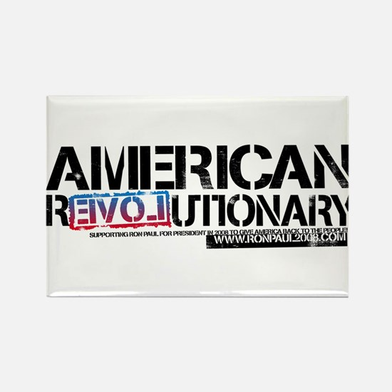 American Revolutionary Rectangle Magnet