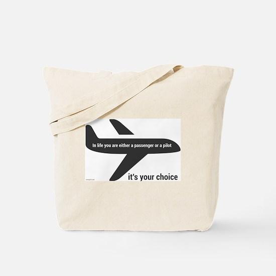 Passenger or pilot Tote Bag