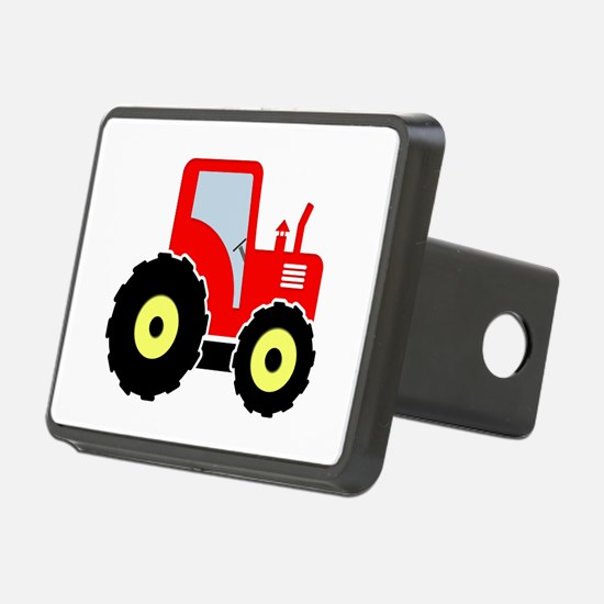 Red toy tractor Hitch Cover