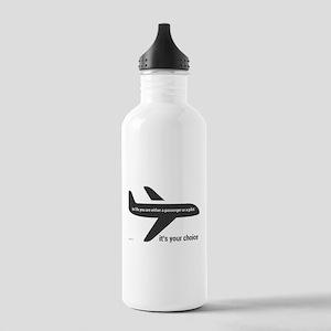 Passenger or pilot Stainless Water Bottle 1.0L