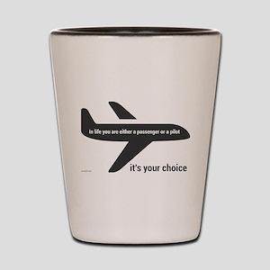 Passenger or pilot Shot Glass