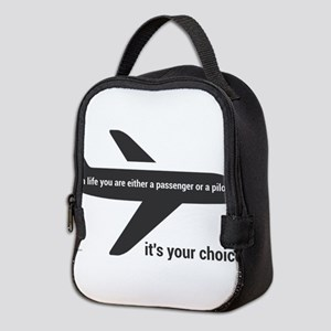 Passenger or pilot Neoprene Lunch Bag