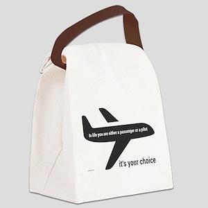 Passenger or pilot Canvas Lunch Bag