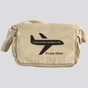 Passenger or pilot Messenger Bag