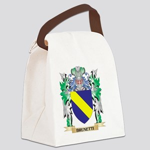 Brunetti Coat of Arms - Family Cr Canvas Lunch Bag
