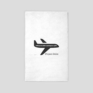 Passenger or pilot Area Rug