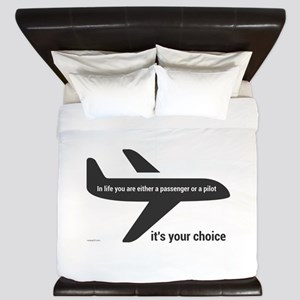 Passenger or pilot King Duvet