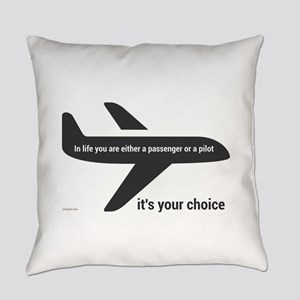 Passenger or pilot Everyday Pillow