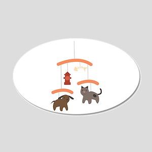 Animal Mobile Wall Decal