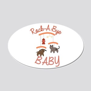 Rock A Bye Baby Wall Decal