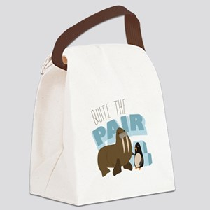 Quite The Pair Canvas Lunch Bag