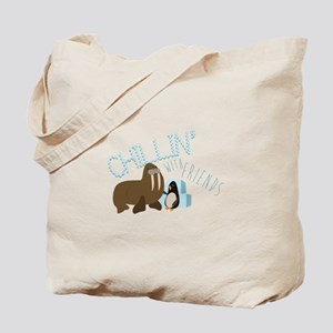 Chillin With Friends Tote Bag