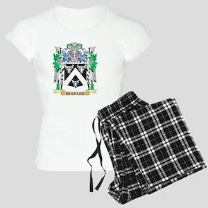 Buckles Coat of Arms - Fami Women's Light Pajamas