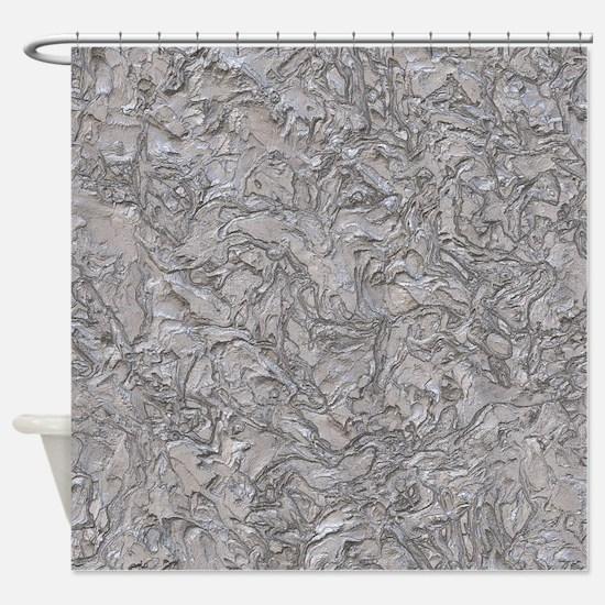 Amazing Plaster Shower Curtain