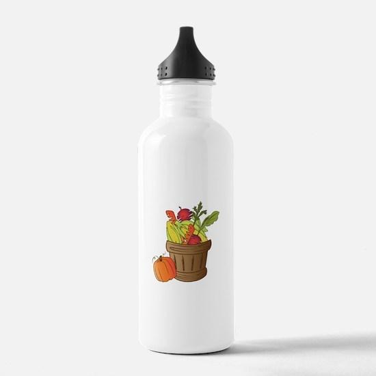 Fall Basket Water Bottle