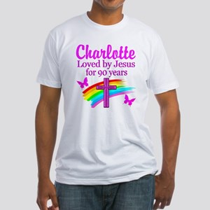 CHRISTIAN 90TH Fitted T-Shirt