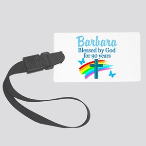 CHRISTIAN 90TH Large Luggage Tag
