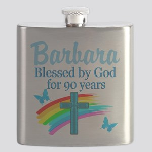 CHRISTIAN 90TH Flask