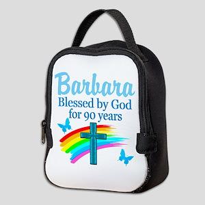 CHRISTIAN 90TH Neoprene Lunch Bag
