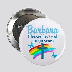 "CHRISTIAN 90TH 2.25"" Button"