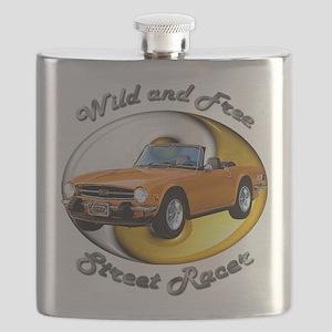 Triumph TR6 Flask