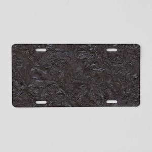 Amazing Plaster Aluminum License Plate