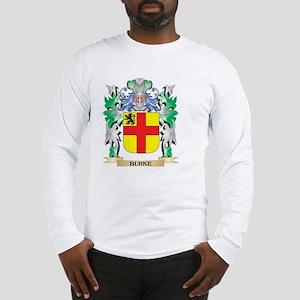 Burke Coat of Arms - Family Cr Long Sleeve T-Shirt