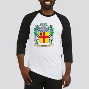 Burke Coat of Arms - Family Crest Baseball Jersey