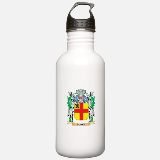 Burke Coat of Arms - F Water Bottle