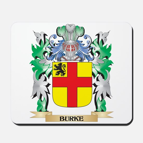 Burke Coat of Arms - Family Crest Mousepad