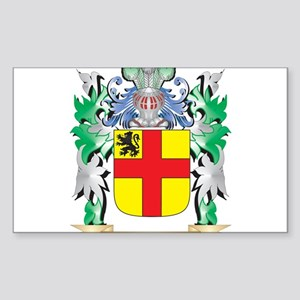 Burke Coat of Arms - Family Crest Sticker