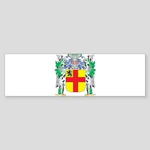 Burke Coat of Arms - Family Crest Bumper Sticker